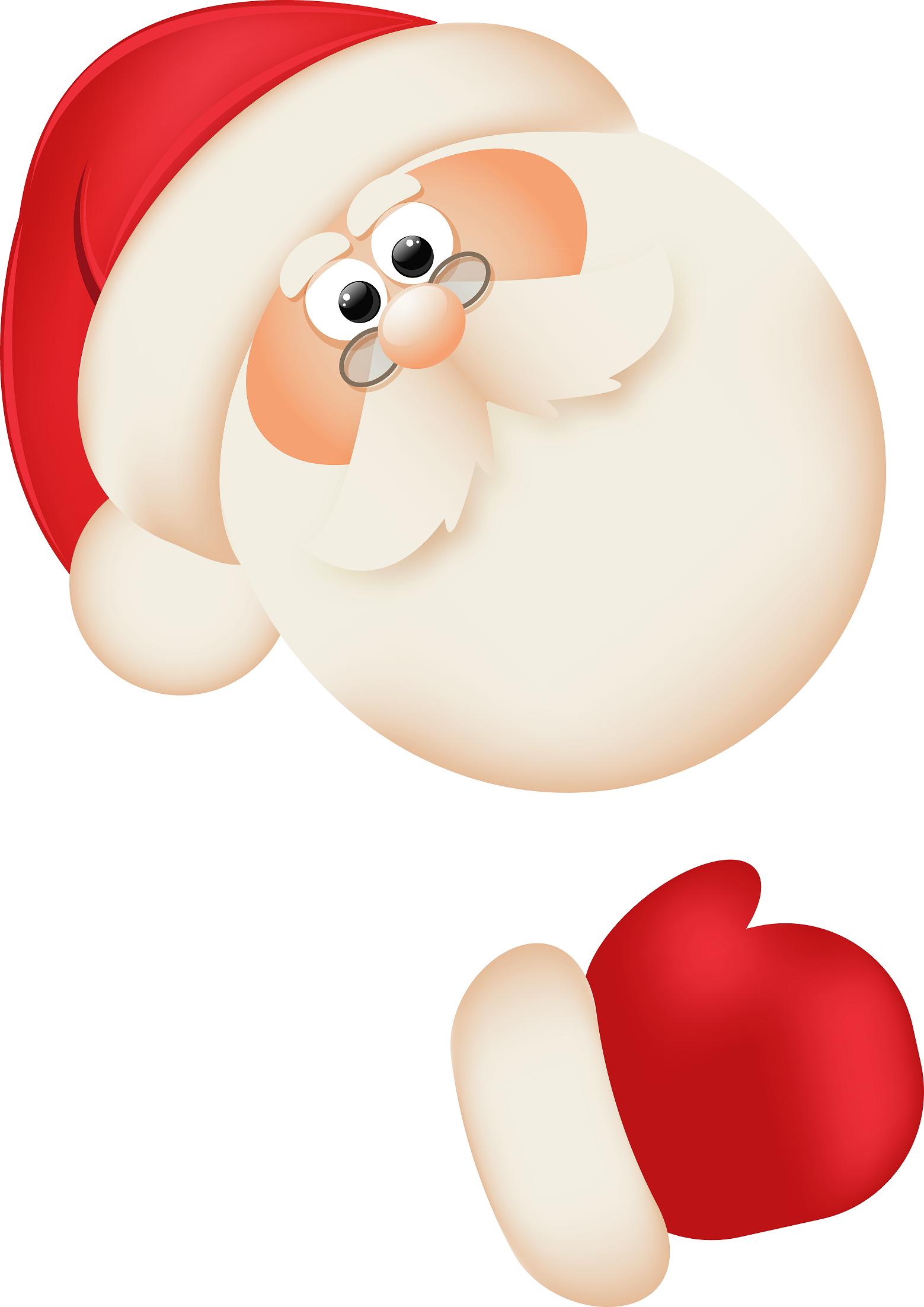 1559x2204 Glove Clipart Santa Claus