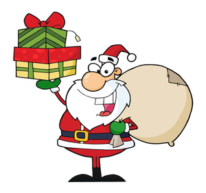 300x282 Christmas Presents Clipart Image