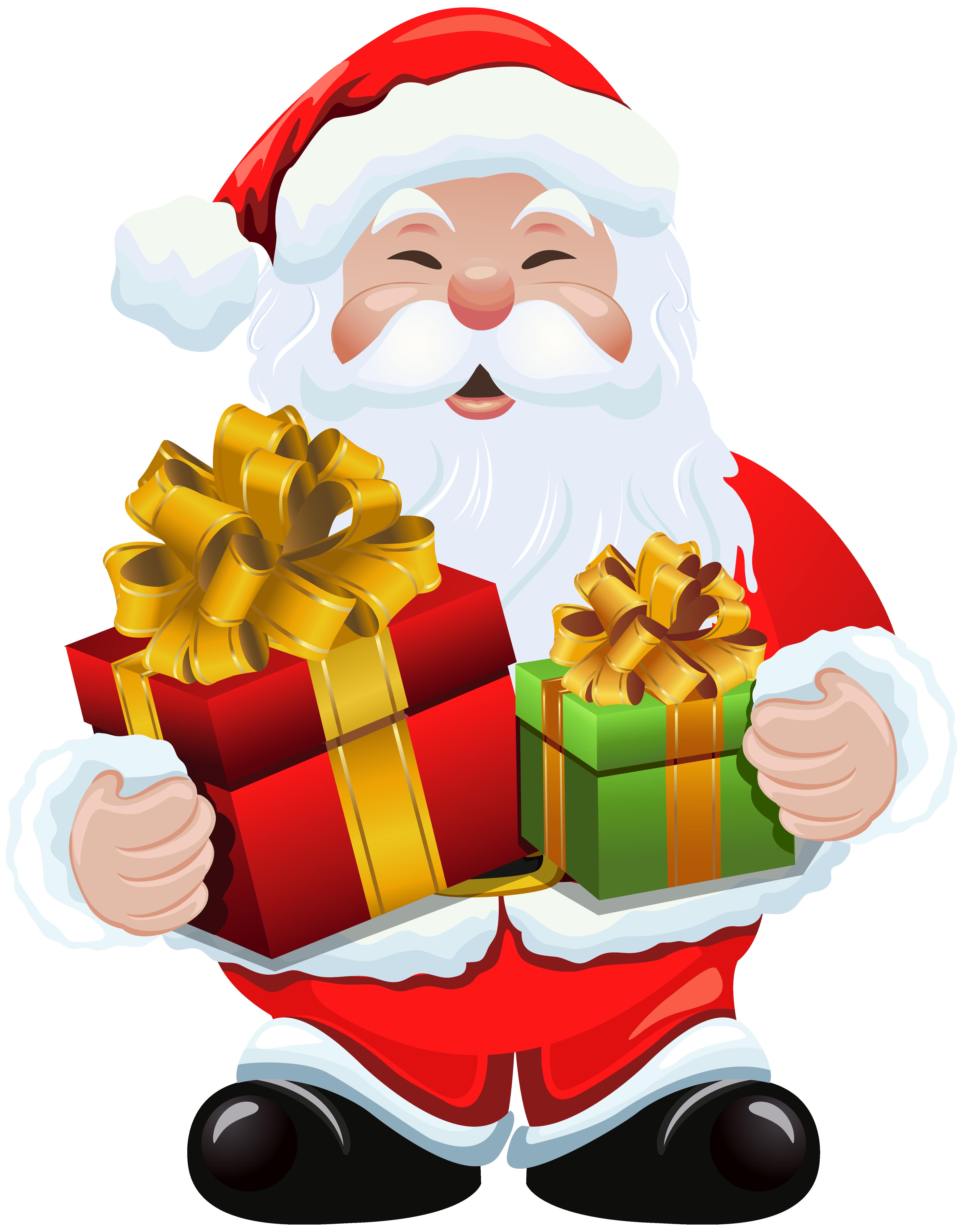 4659x5959 Transparent Santa Claus Clip Art Merry Christmas Amp Happy New