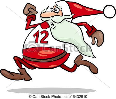 450x387 Santa Claus Clip Art