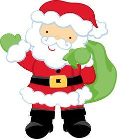 236x281 Christmas Clipart Santa And Friends Clip Art By Pixelpaperprints