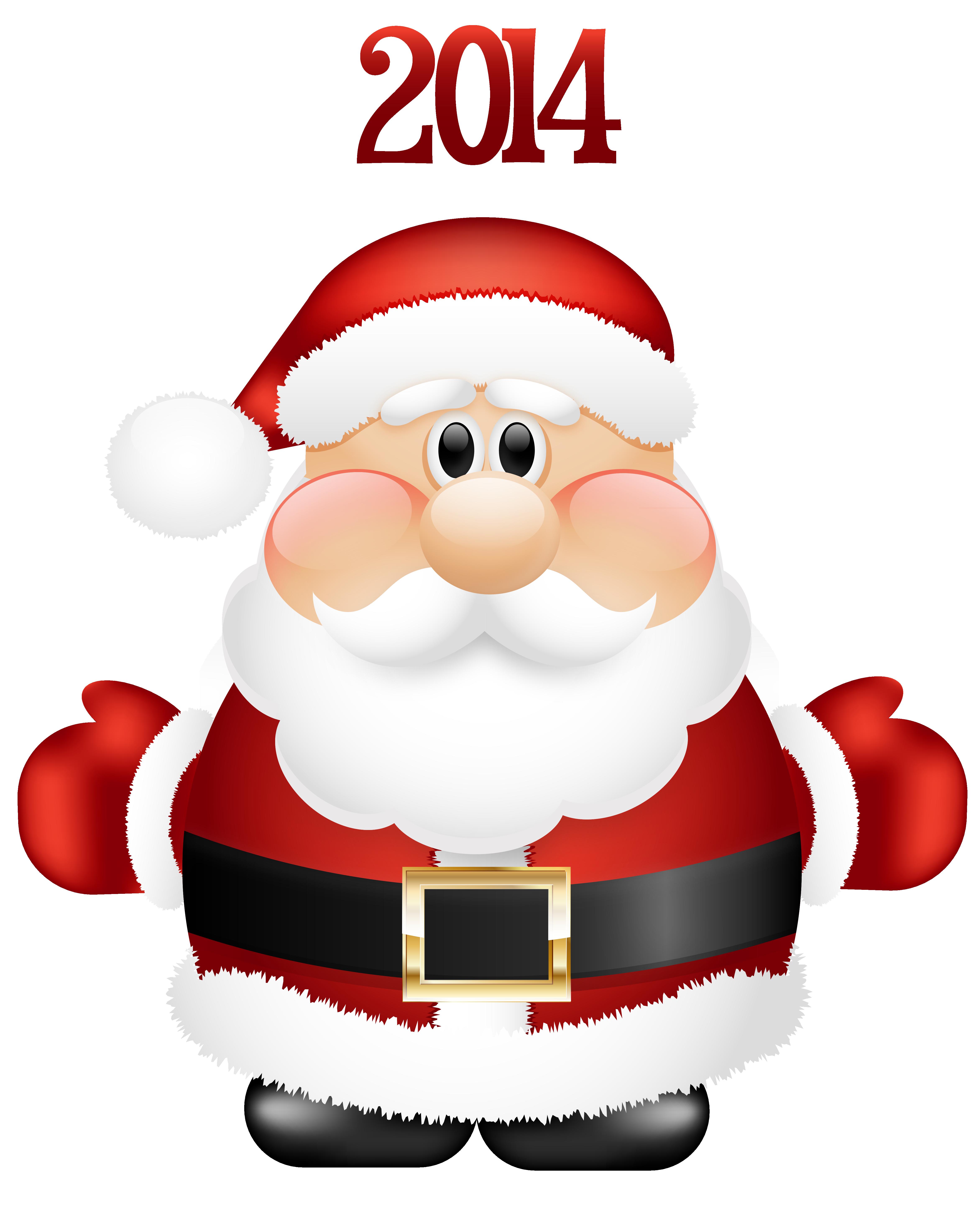4687x5825 Cute Santa Claus Clip Art Cliparts