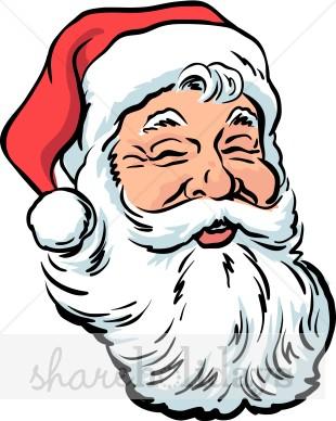 310x388 Laughing Santa Clipart Santa Clipart