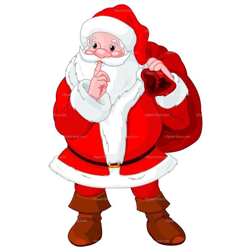 800x800 Santa Claus Clip Art