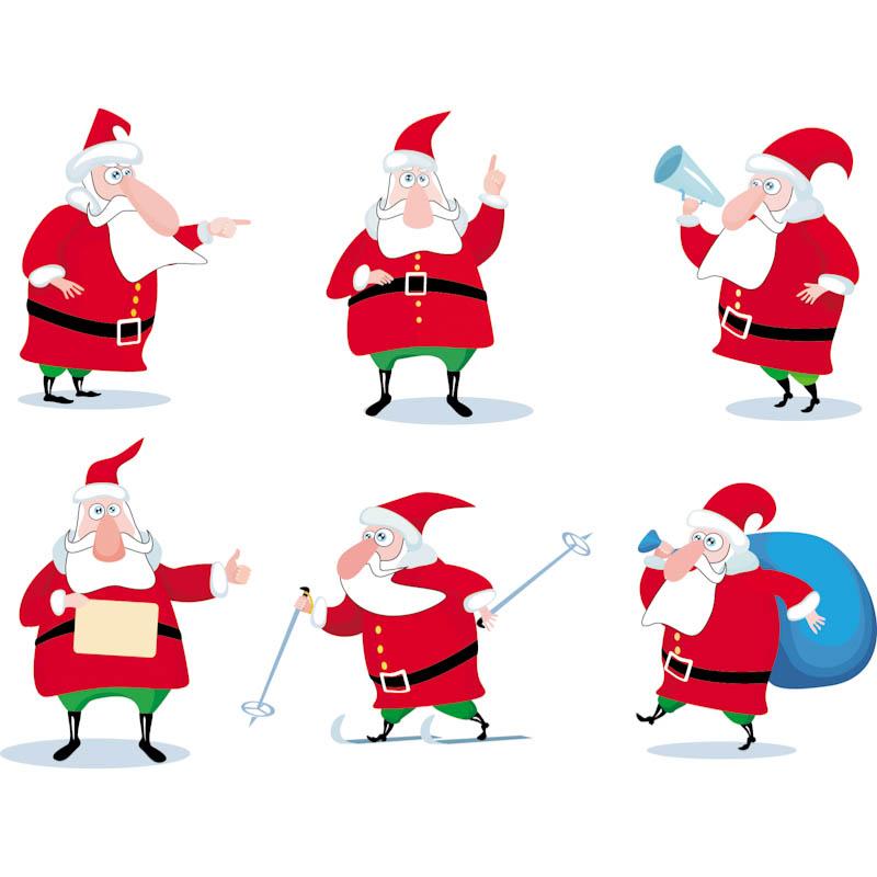 800x800 Santa Claus Illustrations Vector Vector Graphics Blog