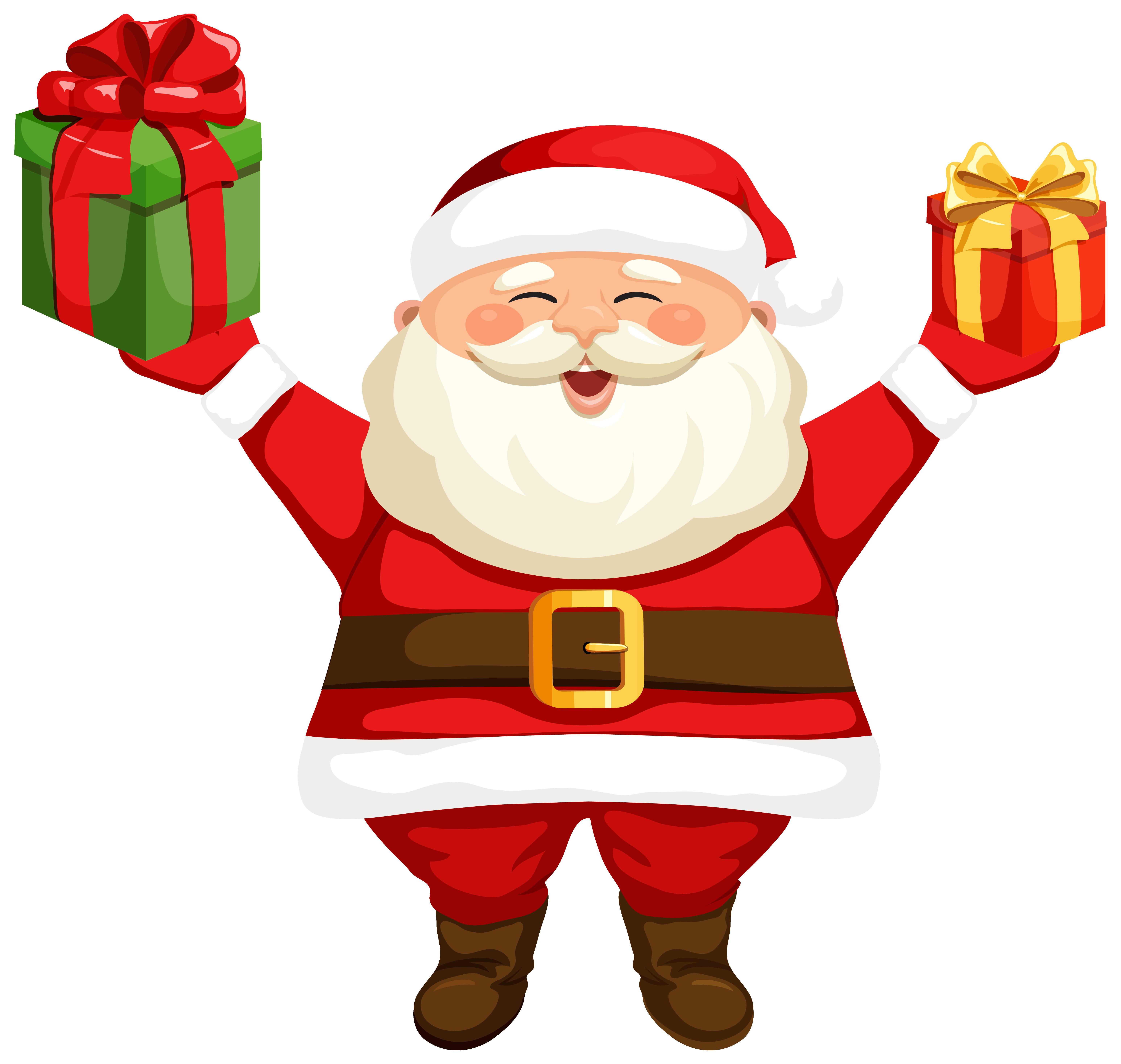 6184x5869 Santa Clipart