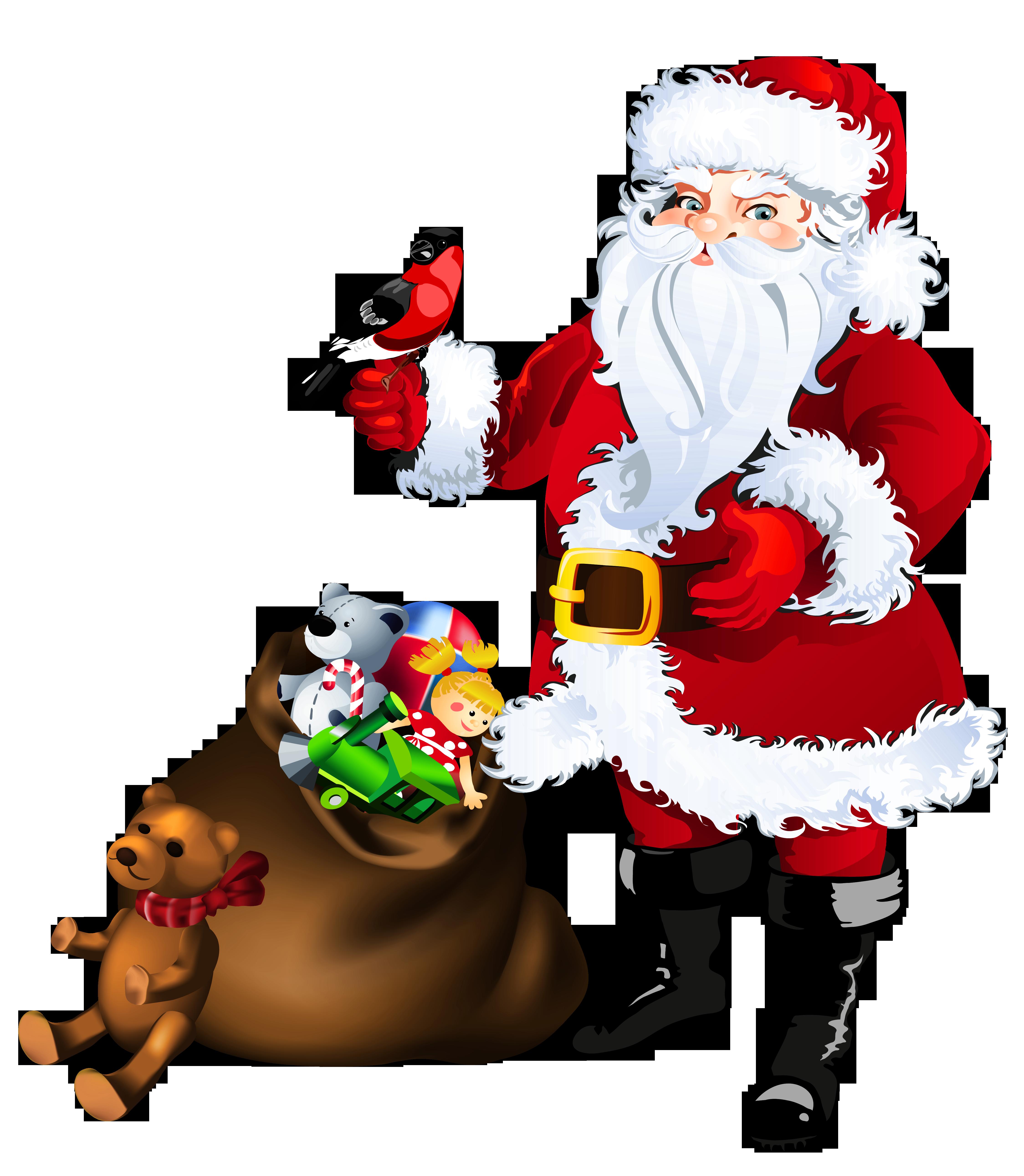 4496x5164 Top 73 Santa Claus Clip Art