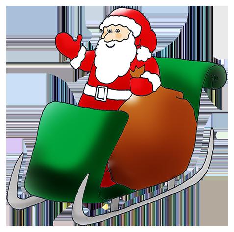 477x472 Weird Clipart Santa