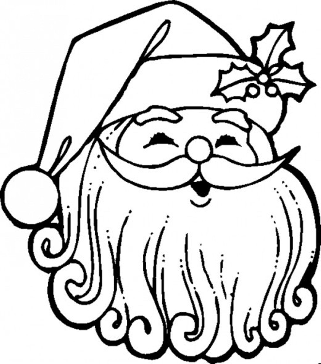 Santa Claus Coloring Pages | Free download best Santa Claus Coloring ...