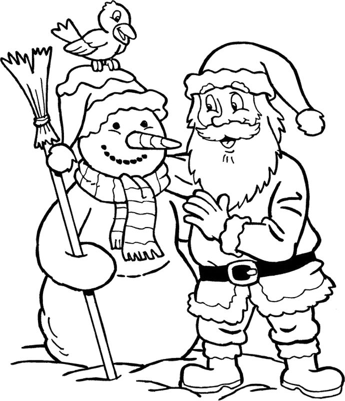 santa claus coloring pages for your little ones 1 690x800 801 best printables images art studios beautiful
