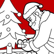 220x220 Santa Claus Coloring Pages