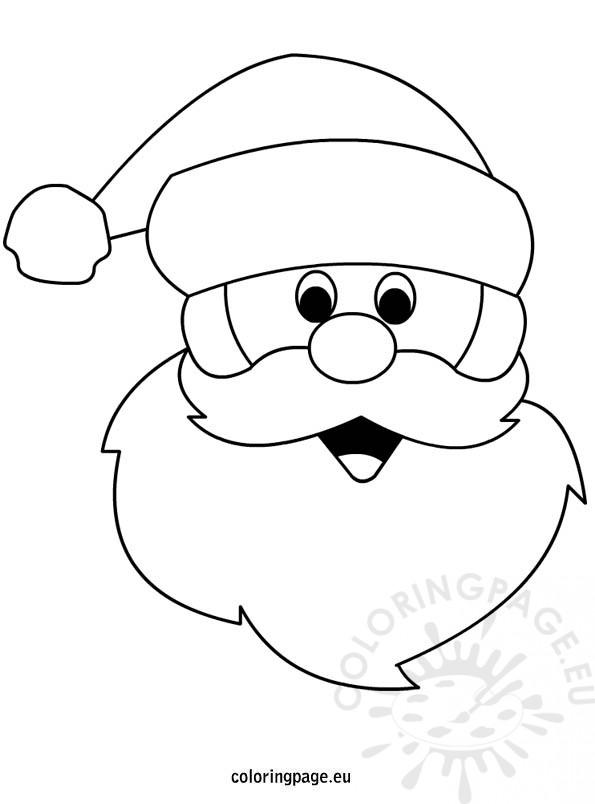 595x804 Santa Claus Coloring Page