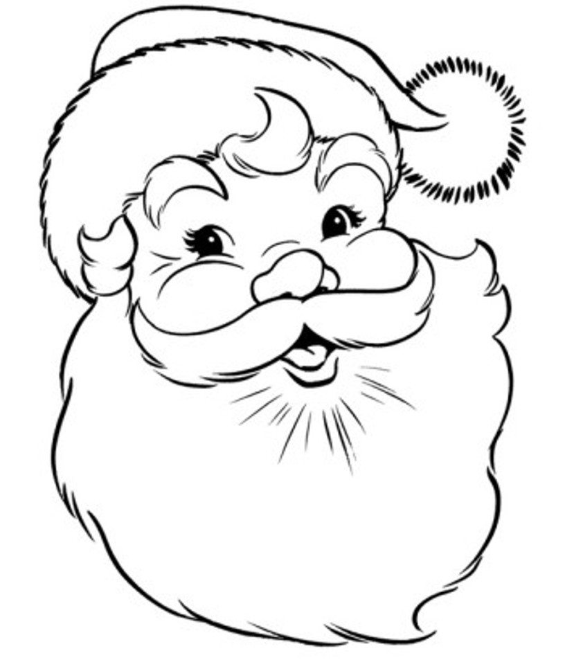 Santa Claus Coloring Pages | Free download on ClipArtMag