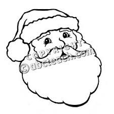 225x225 Coloring Pages Draw Santa Claus Face How To Learn Coloring Pages