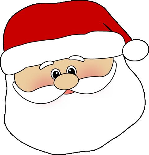 480x500 Head Clipart Santa Claus