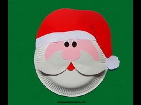 480x360 How To Make A Santa Claus Face For Christmas
