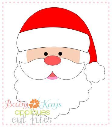 369x416 Best Santa Face Ideas Paper Punch, Santa
