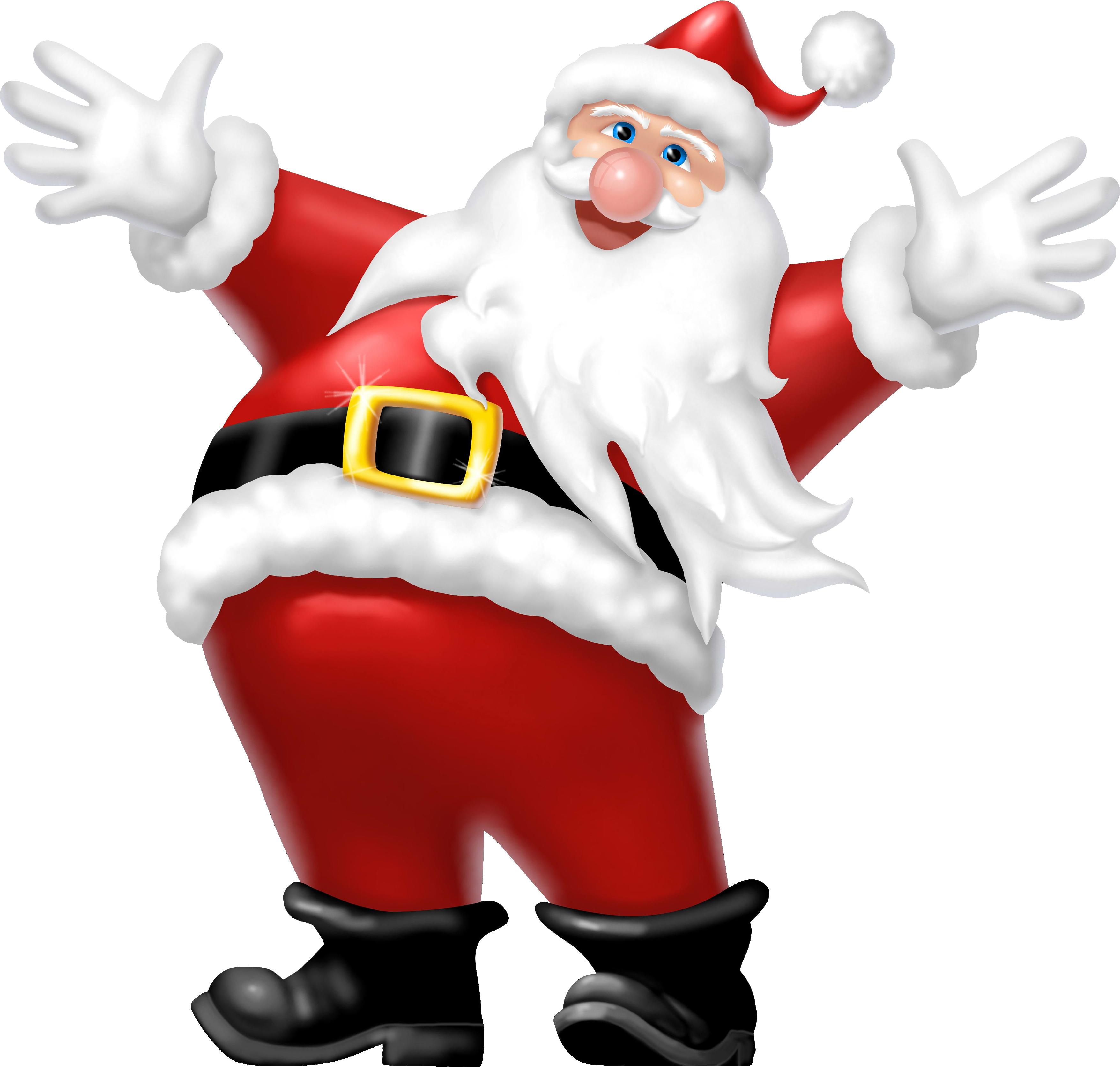 3511x3346 Santa Claus Png Transparent Santa Claus.png Images. Pluspng