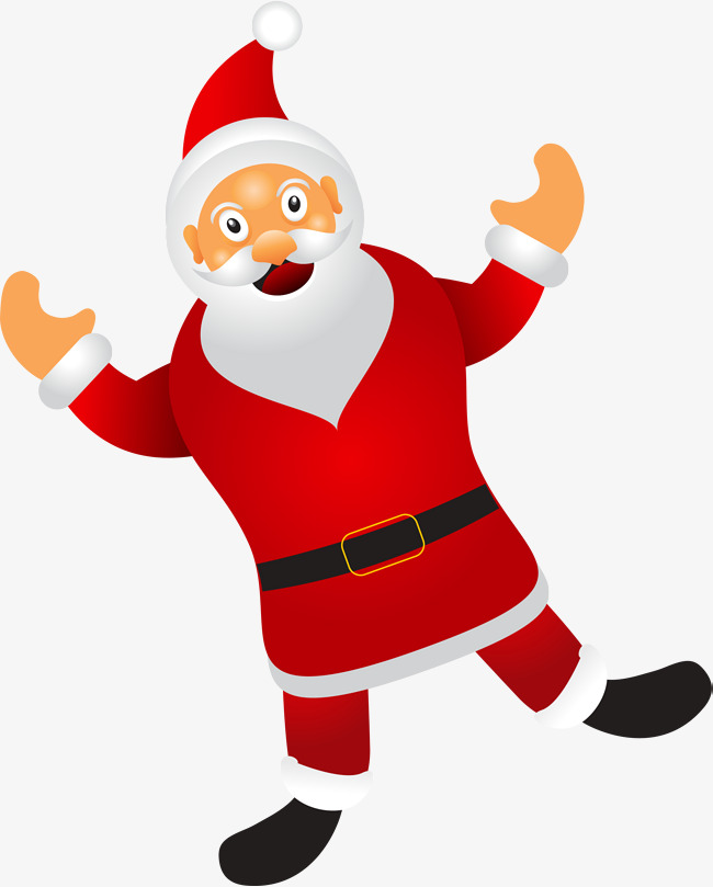 650x809 Red Cartoon Santa Claus, Gules, Cartoon, Santa Claus Png Image