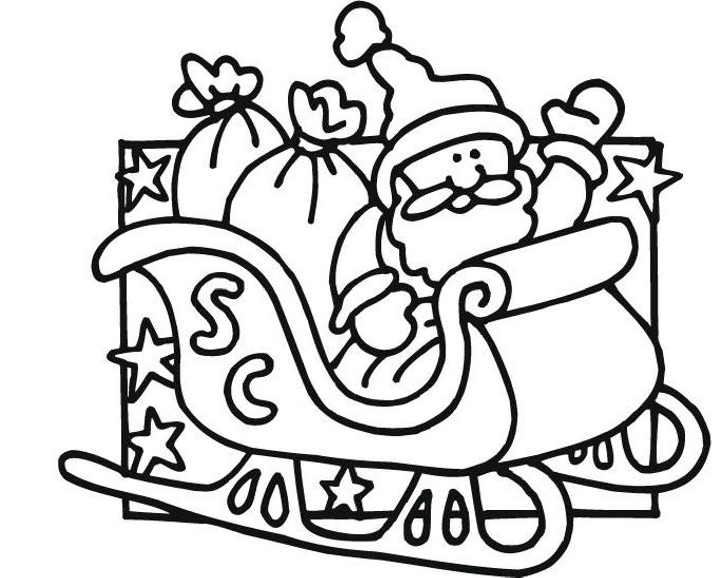 1422x1154 santa claus coloring pages printable
