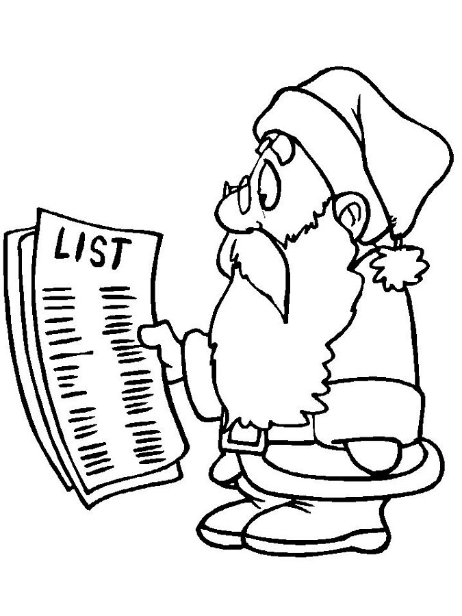 675x900 santa list coloring page christmas images for you to use heres
