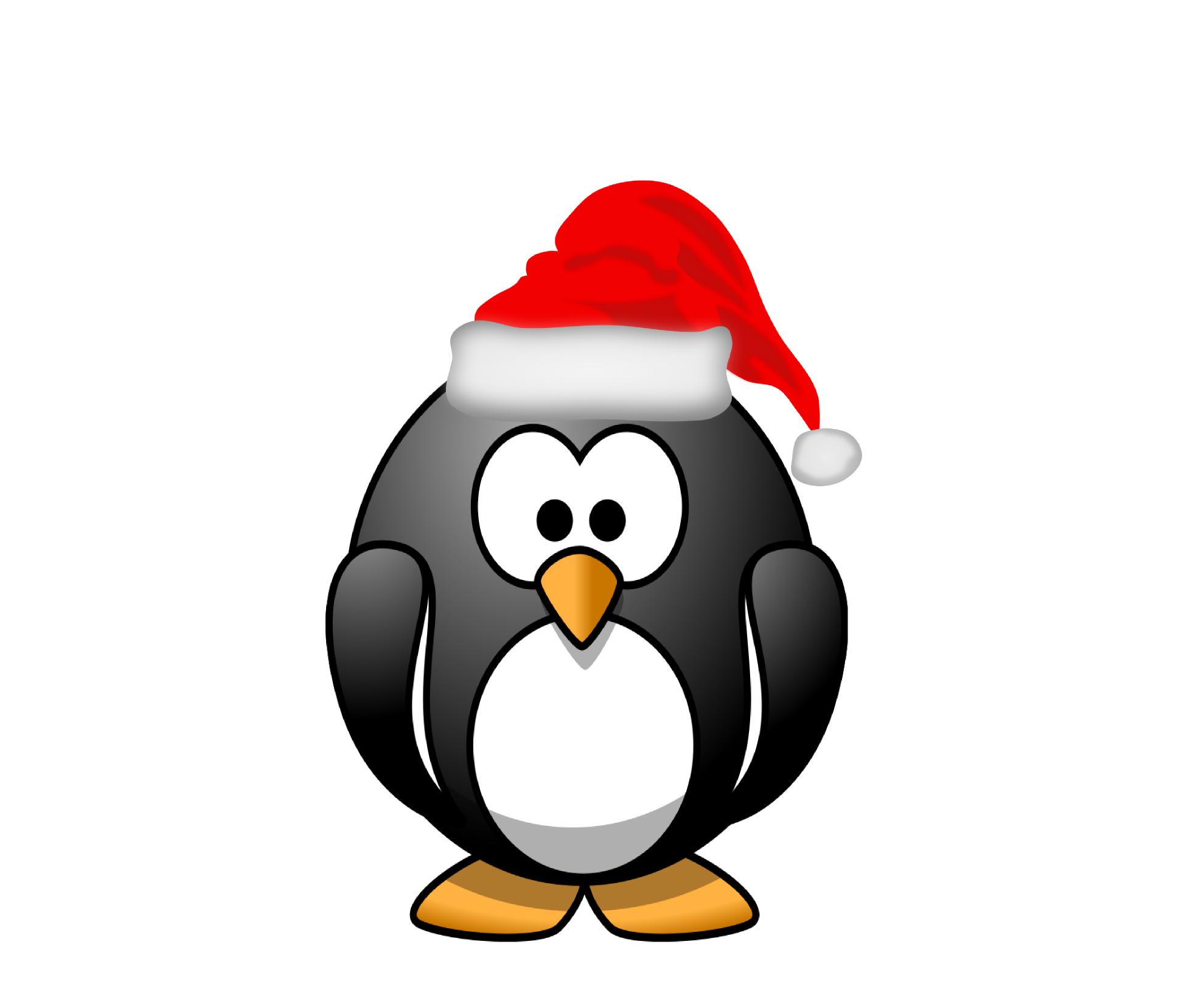 1979x1625 Santa Clipart Penguin