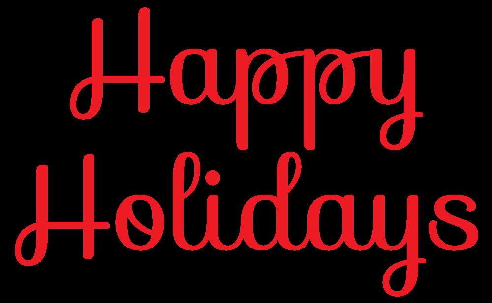 1000x617 Elegant Happy Holidays Clip Art Cliparts