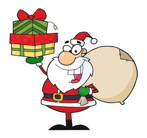 300x282 Santa Claus Clipart Free