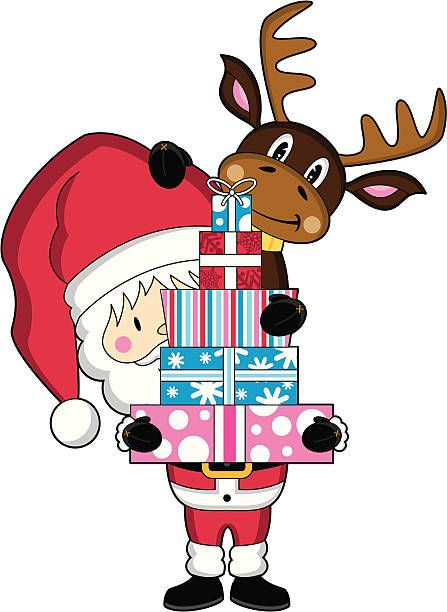 Santa Workshop Clipart