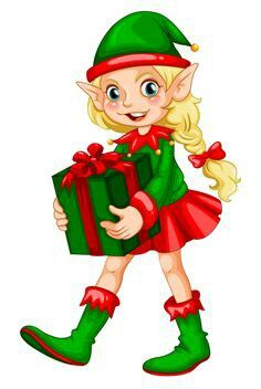 236x352 Christmas Elves Duendes!!! Elves, Clip Art