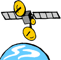 Satellite Clipart