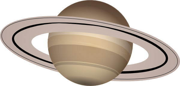 600x286 Saturn Clip Art