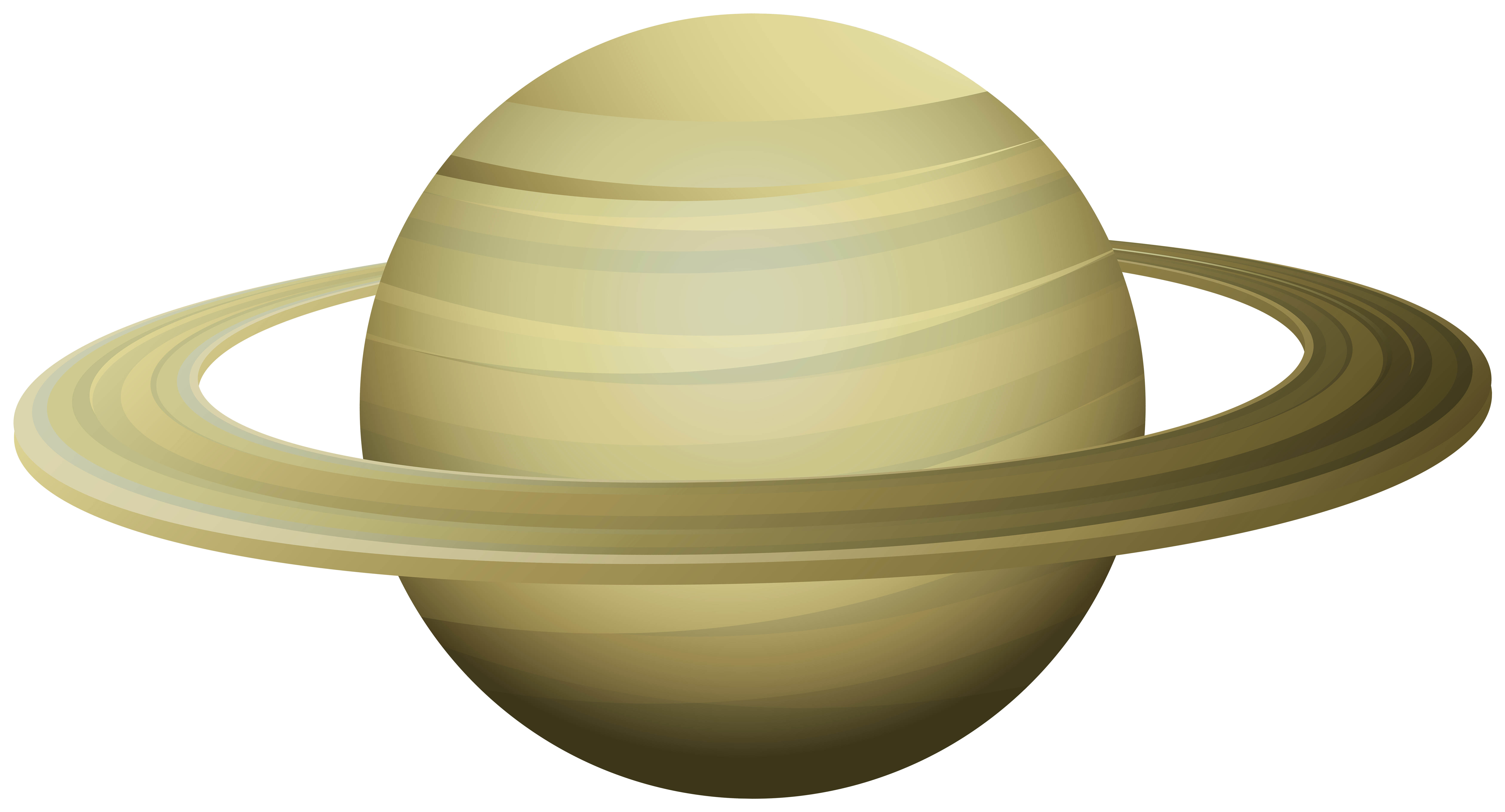 7000x3780 Saturn Png Clip Art