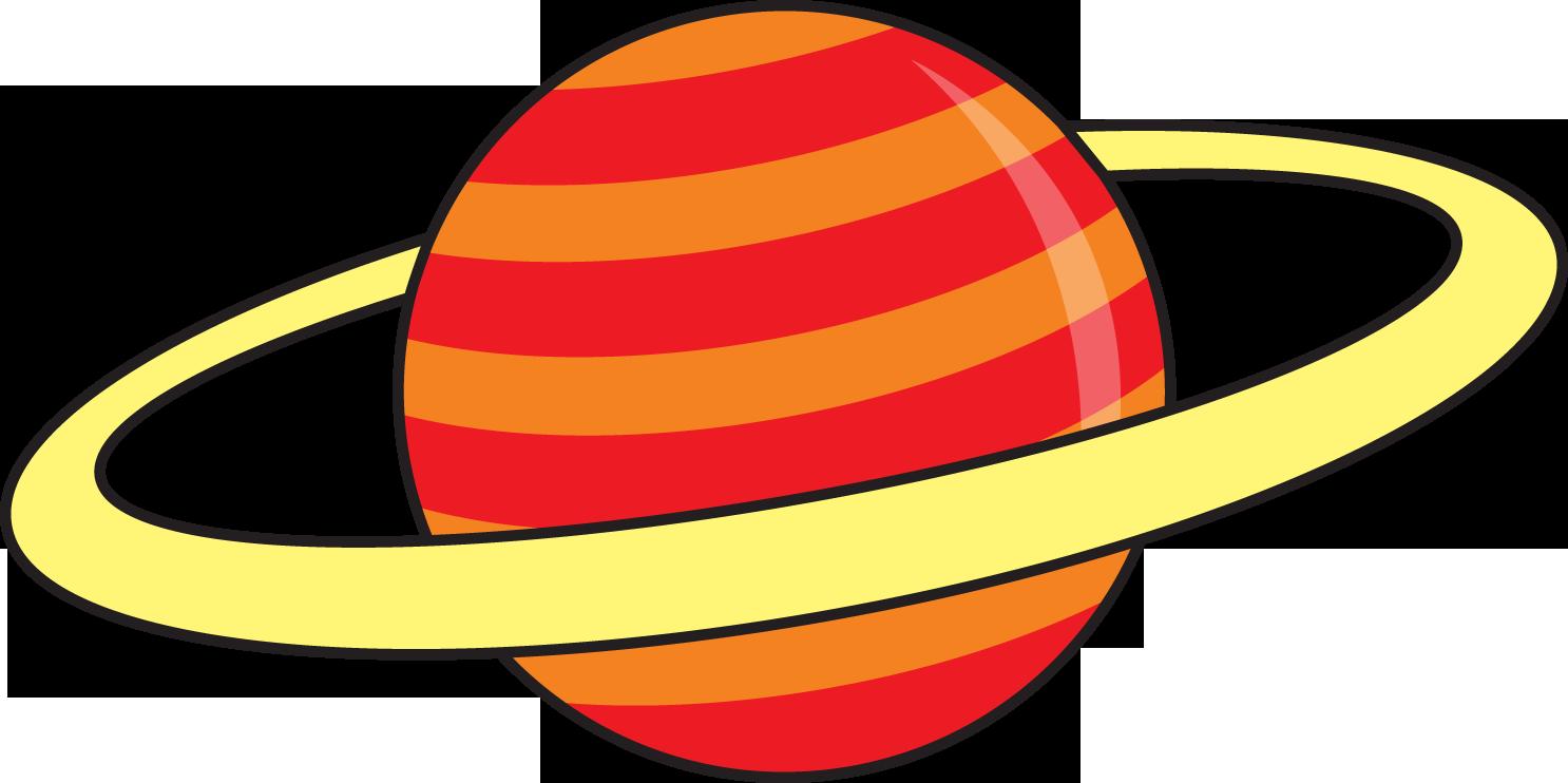 1486x742 Cute Saturn Clipart 4