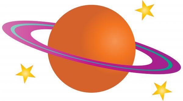 600x331 Illustration Of Planet Saturn.