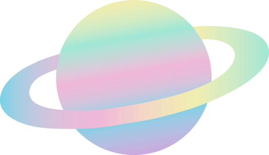 550x318 Pastel Colored Ringed Alien Planet