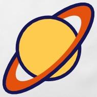 190x190 Planet Saturn (Cartoon) Baby Bib Spreadshirt