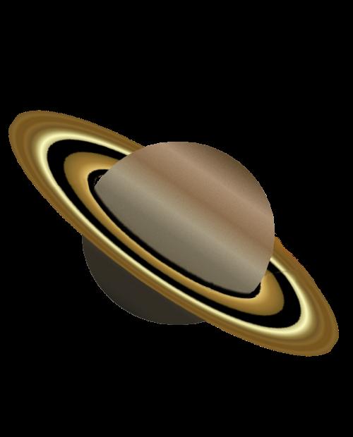 500x620 Realistic Clipart Saturn