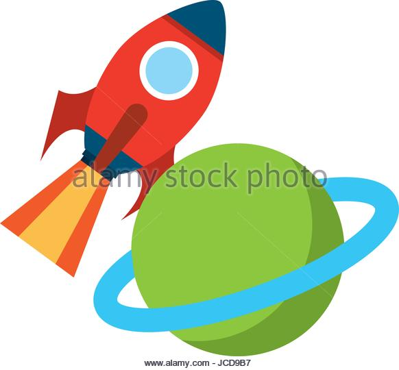 582x540 Rocket Space Saturn Planet Stock Photos Amp Rocket Space Saturn