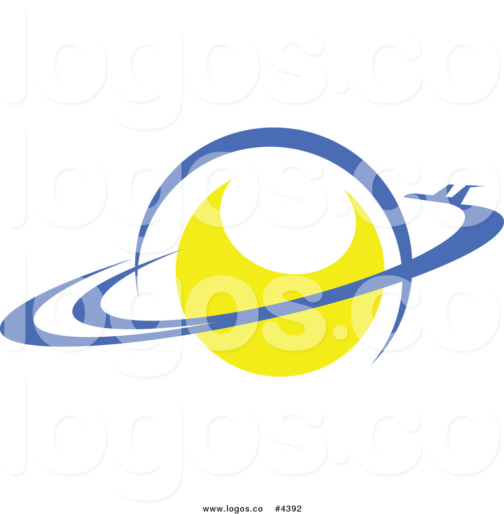 1024x1044 Royalty Free Yellow Planet With Blue Rings Logo By Vector
