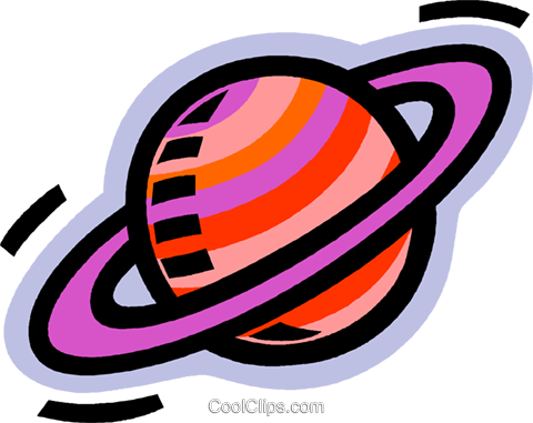 480x381 Saturn, Planets, Solar System Royalty Free Vector Clip Art