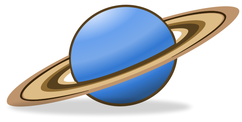 800x406 Space Clipart Saturn Planet