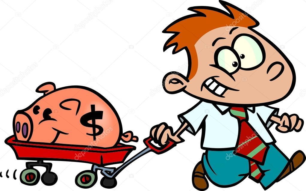 1022x637 Boy Clipart Saving Money 2596718