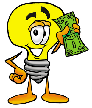 309x360 Electricity Clipart Money