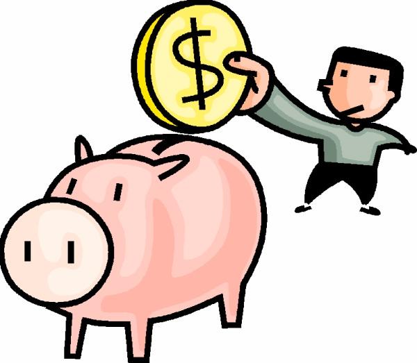 600x523 Save Money Clipart