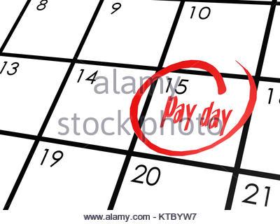 400x320 Save The Date Written On A Calendar