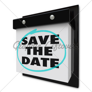 325x325 Calendar Special Day Circled For Anticipated Date Gl Stock Images