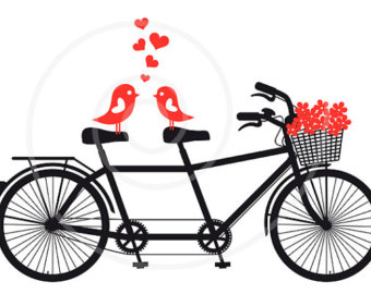 340x270 Bicycle Clipart Love Bird