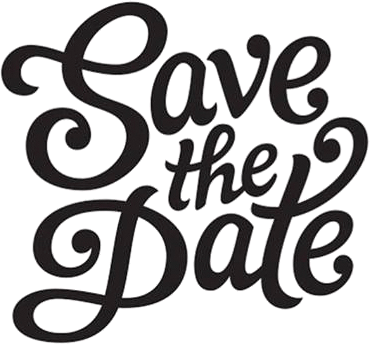 370x344 Save The Date Font