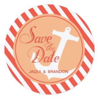 324x324 Yacht Save The Date Invitations Amp Announcements Zazzle